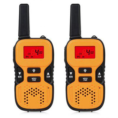 2PCS R8 Multifunctional UHF Band Kids Walkie Talkie
