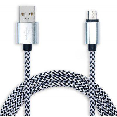 95cm Micro USB Interface Data Sync / Cable de carga para Android