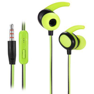 KSD - N02 Dual-color Microphone Support Wire Sports Earbuds