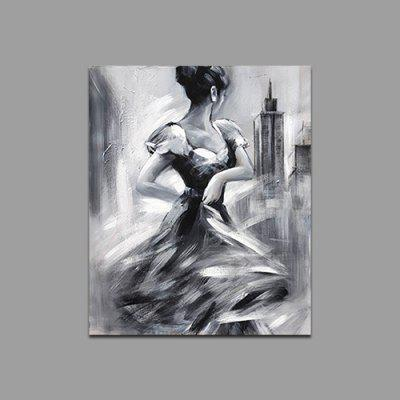 Qiaojiahuayuan Dancing Girl Print for Home Decoration