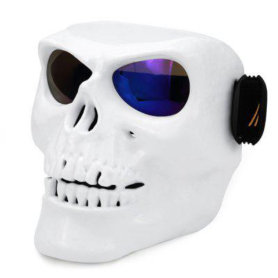 BSDDP - 0904 Skull Face Mask Style Motorcycle GoggleMotorcycle Goggles &amp; Sunglasses<br>BSDDP - 0904 Skull Face Mask Style Motorcycle Goggle<br><br>Accessories type: Motorcycle Goggles<br>Brand: BSDDP<br>Gender: Universal<br>Material: Sponge, PC, ABS<br>Package Contents: 1 x Motorcycle Goggle<br>Package size (L x W x H): 22.00 x 18.00 x 7.00 cm / 8.66 x 7.09 x 2.76 inches<br>Package weight: 0.3100 kg<br>Product size (L x W x H): 20.00 x 16.00 x 5.00 cm / 7.87 x 6.3 x 1.97 inches<br>Product weight: 0.3000 kg<br>Size: One Size Fits All