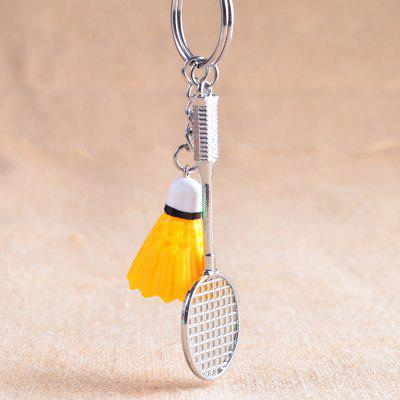 Creative Badminton Style Key Chain