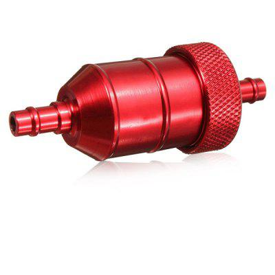 Buy RED Universal Reusable Aluminum Alloy Liquid Fuel Filter for $4.49 in GearBest store