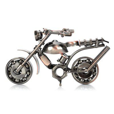 Retro Style Metal Motorbike Pattern Decoration ToyModel &amp; Building Toys<br>Retro Style Metal Motorbike Pattern Decoration Toy<br><br>Gender: Unisex<br>Materials: Metal<br>Package Contents: 1 x Toy<br>Package size: 20.00 x 12.00 x 8.00 cm / 7.87 x 4.72 x 3.15 inches<br>Package weight: 0.2800 kg<br>Product size: 18.00 x 10.00 x 5.00 cm / 7.09 x 3.94 x 1.97 inches<br>Product weight: 0.2600 kg<br>Stem From: China<br>Theme: Vehicle