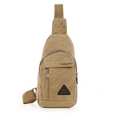 Men Casual Vintage Canvas Crossbody Shoulder Bag