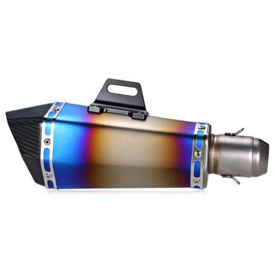 38 - 51mm XXL210 - SC06 Motorcycle Tailpipe Silencer