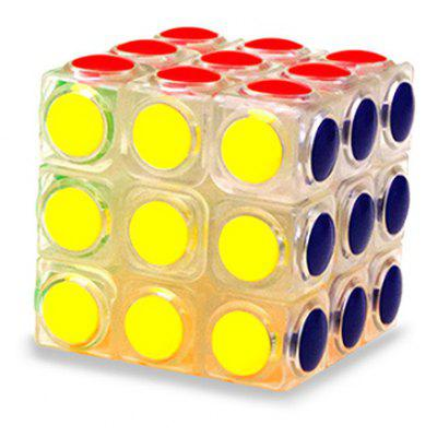 ABS 57 mm Puzzle Magic Cube 3 x 3 x 3