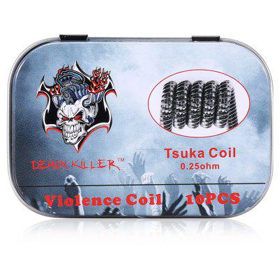 Demon Killer Violence Tsuka 0.25 ohm Coil