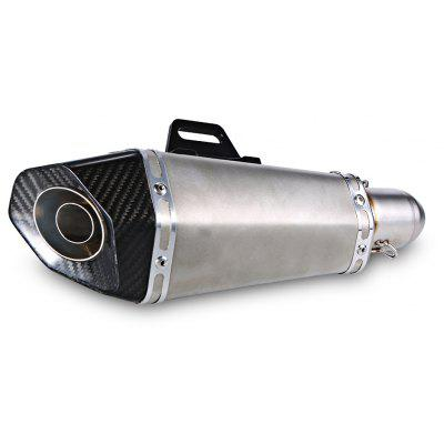 38 - 51mm XXL210 - CH03 Adjustable Motorcycle Tailpipe Silencer