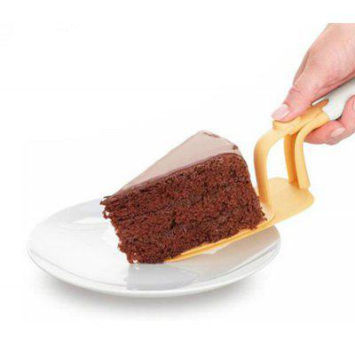 Pushable Plastic Triangular Spade Cake Spatula