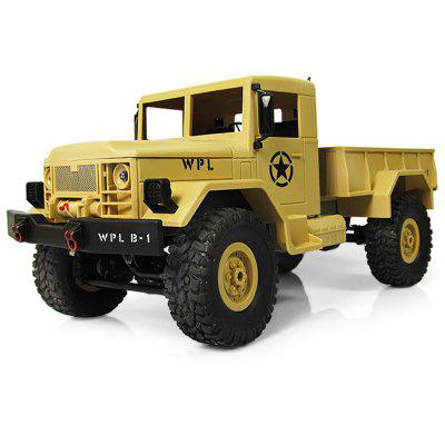 WPL B - 1 1:16 Mini Off-road RC Military Truck - RTR - SAND YELLOW