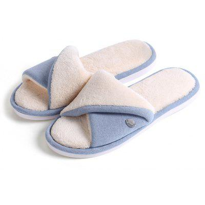 Leisure Style Winter Warm Female House Slippers