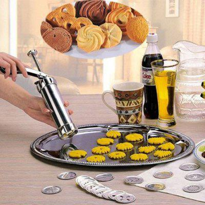 Multifunctional Cookie Press Kit Useful Biscuit Maker Set