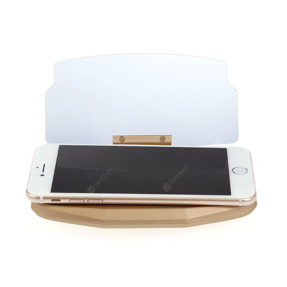 Universal Reflection Projector Mobile Phone Bracket