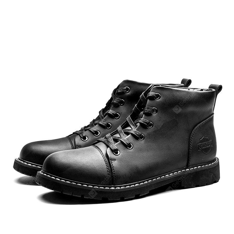 British Style Classic Wax Male Martin Boots sale lowest price bdfDSW