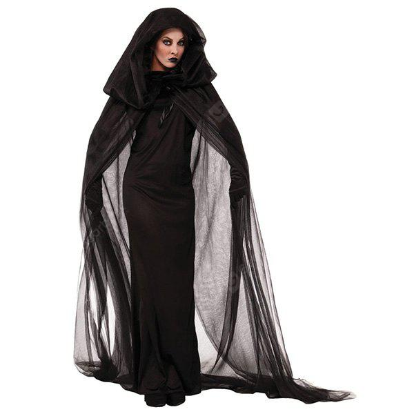 Costume Clothes Halloween Decorative Long Dress