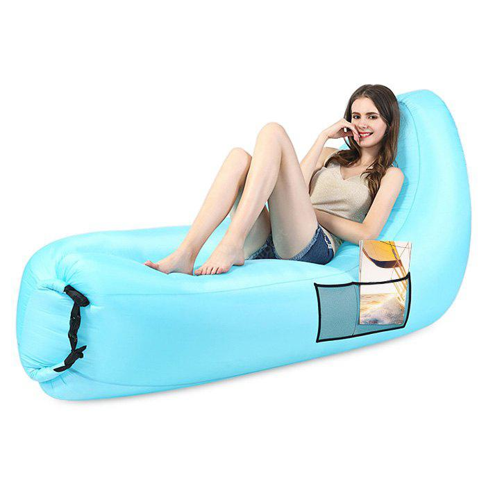 Portable Water Resistant 120kg Loading Fast Inflatable Sofa Bed