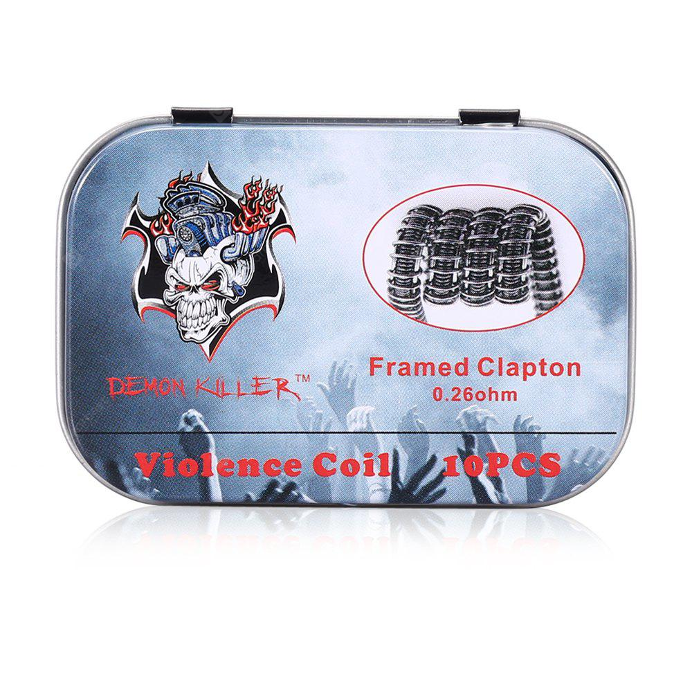 Demon Killer Violence Framed Clapton 0.26 ohm Coil
