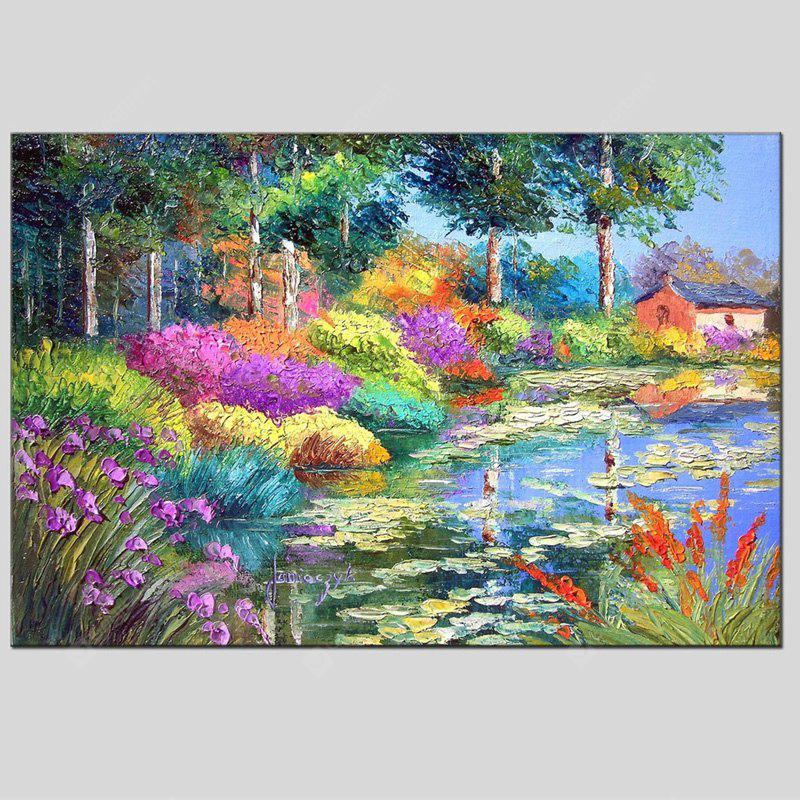 Hua Tuo Hand Painted Countryside Scenery Oil Painting