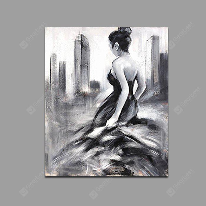 Qiaojiahuayuan Dancing Woman Print for Home Decoration