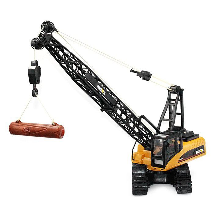 HUINA TOYS 1572 1:14 2.4GHz 15CH RC Alloy Crane Truck - RTR