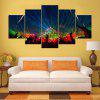 YSDAFEN kn - 501 5 Panels Modern Style Canvas Print - COLORMIX
