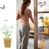 LAIMA QT0172 Flower Butterfly Wall Sticker - COLORMIX