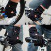 Unisex Winter Warm Windproof Cycling Gloves - BLACK