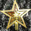 Christmas Tree Top Decorative Hand-made Star - GOLDEN