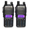 2PCS BAOFENG UV - 82 Wireless Dual Band Walkie Talkie - BLACK