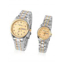 SELF LOVER L1002 Couple Watches