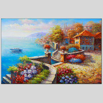 Hua Tuo Modern Hand Painted Seascape Oil Painting