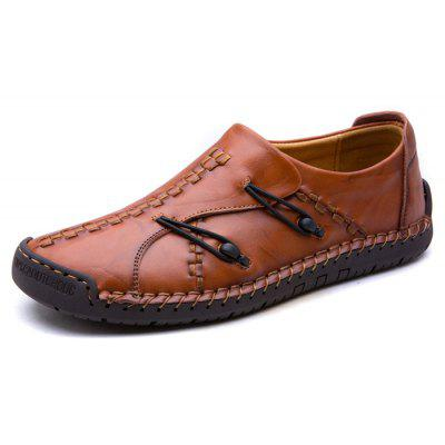 Men Stitching Outdoor Slip-on Oxford Shoes