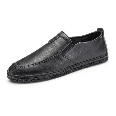 Men Chic Soft Stitching Casual Oxford Shoes