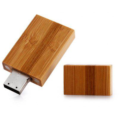 ZP USB 2.0 Wood 64GB USB Flash Disk