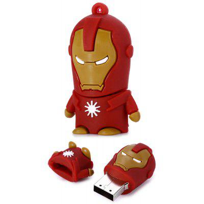 Buy 32GB Iron Man USB 2.0 Flash Disk Stick / Flash Memory Drive DUN 32GB for $7.23 in GearBest store