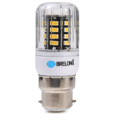 10PCS BRELONG 30 x SMD5733 B22 6W 600LM LED Corn Bulb
