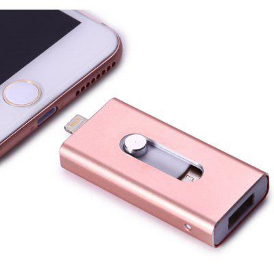 Buy 32GB PhotoFast i-FlashDrive HD 8Pin USB Flash Disk PINK 32GB for $20.50 in GearBest store