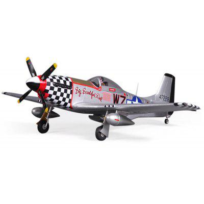 FMS 800MM P51 V2 Big Glider Model PNP Version RC Aircraft Toy Gift for Flying Lover