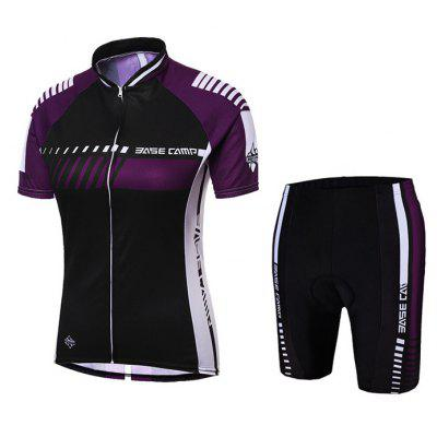 BASECAMP BC-525 Quick-drying Women Short Sleeve Cycling Suits