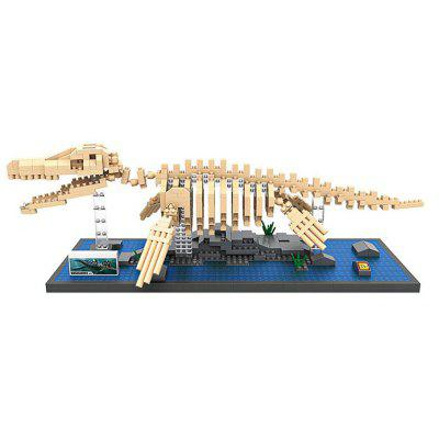 LOZ 9024 ABS 740Pcs Mosasaurs Building Block Toy for Enhancing Social Cooperation Ability