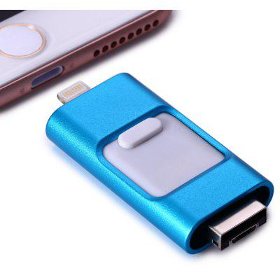 P8 High Speed 64GB FlashDrive 8Pin USB Flash Disk