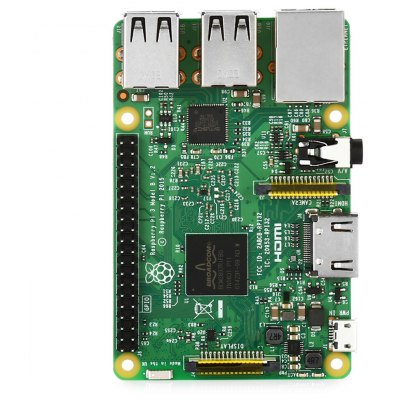 DIY Raspberry Pi Model 3 B Motherboard  -  ENGLISH VERSION  GREEN