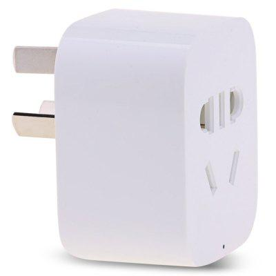 Original Xiaomi Mi Smart WiFi SocketPower Strips<br>Original Xiaomi Mi Smart WiFi Socket<br><br>Brands: Xiaomi<br>Color: White<br>Current: 10A<br>Input Voltage (V): AC 90 - 250V<br>Output Voltage (V): AC 180 - 250V<br>Package Contents: 1 x Socket<br>Package size (L x W x H): 8.00 x 8.00 x 6.00 cm / 3.15 x 3.15 x 2.36 inches<br>Package weight: 0.1200 kg<br>Power (W): 2200W<br>Product size (L x W x H): 5.50 x 4.40 x 3.10 cm / 2.17 x 1.73 x 1.22 inches<br>Product weight: 0.0630 kg