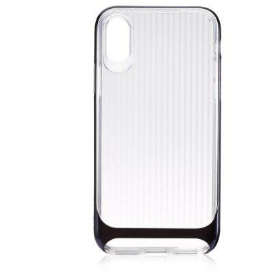 USAMS Phone Case for iPhone X Wave Anti-drop Plating Edge