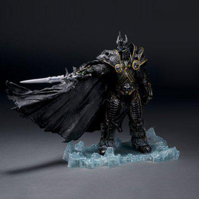 PVC + ABS Static Online Role-playing Game Figurine Character Model Home Office Decor - 7.9 inch