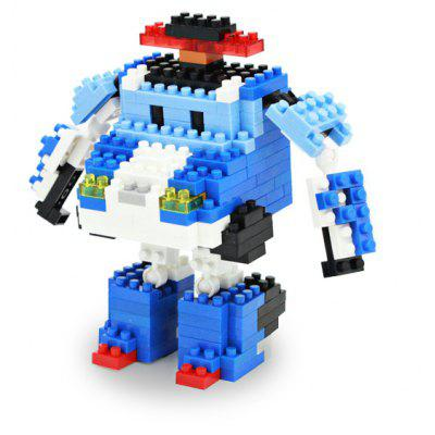 LOZ 8210 Cartoon Building Block Educational Decoration Toy for Spatial Thinking - 261Pcs