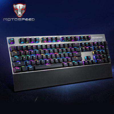 Фото Motospeed CK108 USB Wired Game Keyboard. Купить в РФ