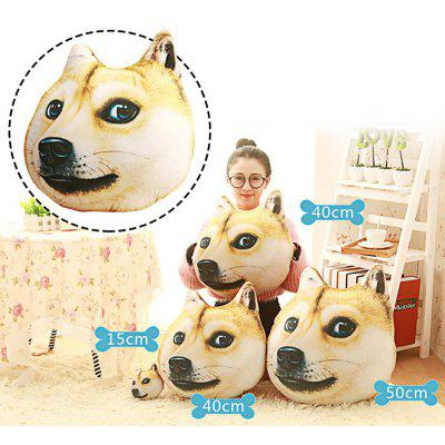 Funny Simulation Animal Image Pillow Seat Cushion for Sofa Bed Chair