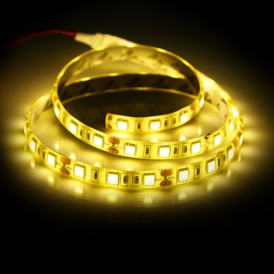 48 x SMD 5050 / 80CM 14W 1200Lm Waterproof LED Light StripLED Strips<br>48 x SMD 5050 / 80CM 14W 1200Lm Waterproof LED Light Strip<br><br>Actual Lumens: 1200LM<br>CCT/Wavelength: 3000-3500K<br>Connector Type: Wired<br>Features: IP-65, Low Power Consumption, Waterproof<br>Input Voltage: DC12<br>LED Type: SMD-5050<br>Material: Silicone<br>Number of LEDs: 48 x SMD 5050 / 80CM<br>Optional Light Color: Warm White<br>Package Contents: 1 x LED Strip Light<br>Package size (L x W x H): 18.00 x 12.00 x 2.00 cm / 7.09 x 4.72 x 0.79 inches<br>Package weight: 0.046 kg<br>Product size (L x W x H): 80.00 x 1.00 x 0.30 cm / 31.5 x 0.39 x 0.12 inches<br>Product weight: 0.026 kg<br>Rated Power (W): 14W<br>Type: LED Strip